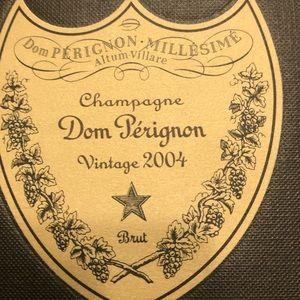 2004 Dom Perignon Champagne Box Empty